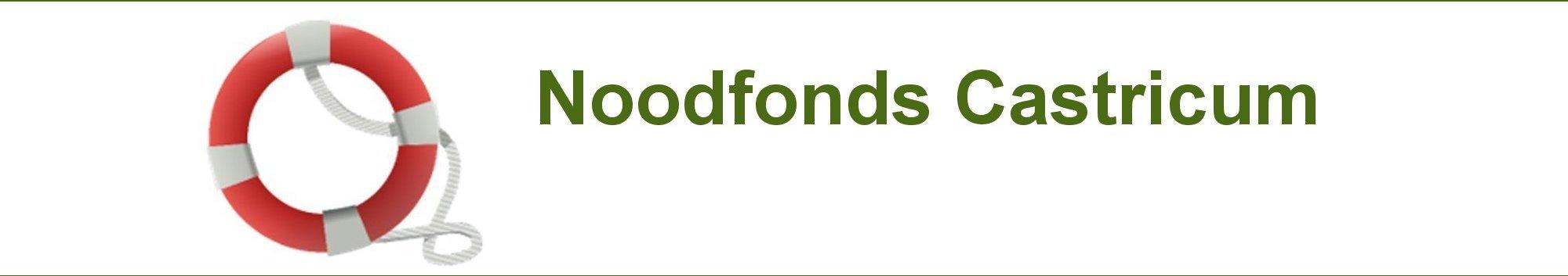 Noodfonds Castricum-Banner